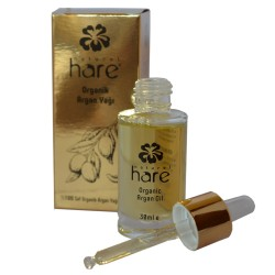 Hare Organic Argan Oil 30ml + Shakira Collagen Keratin Shampoo 500ml Kit - Dry,Damaged,Colored Hair